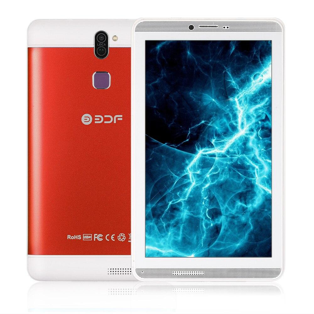 2018 nuevas tabletas de 7 pulgadas Android 6,0 Tablet Pc 3G Sim llamada de teléfono 1024*600 pantalla Quad Core 1 GB/16 GB Flash construido dentro de la tableta