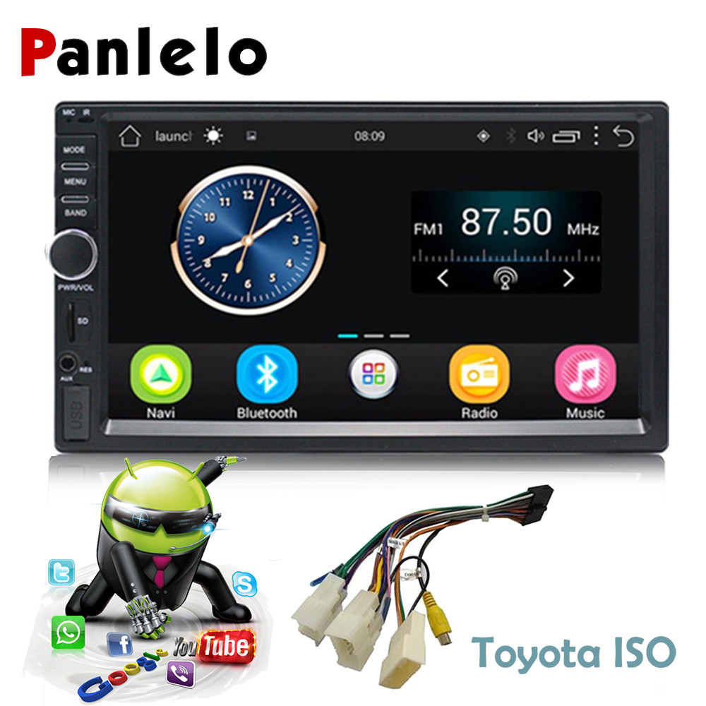 Car GPS Navigation Android Car 2 Din Radio Bluetooth 7 Inch HD Touch Screen Head Unit Car Stereo Audio for Toyota Support DABCar GPS Navigation Android Car 2 Din Radio Bluetooth 7 Inch HD Touch Screen Head Unit Car Stereo Audio for Toyota Support DAB