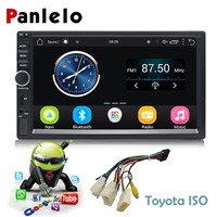 Car GPS Navigation Android Car 2 Din Radio Bluetooth 7 Inch HD Touch Screen Head Unit Car Stereo Audio for Toyota Support DAB