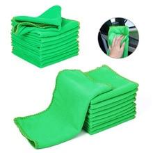 1 шт. полотенце из микрофибры для мытья автомобиля мягкая чистка Авто уход за автомобилем Детализация тряпки моющее полотенце тряпка 9,84 ''x 9,84'' дюймов