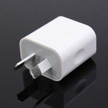 Ас plug стены usb зарядное устройство адаптер 5 v 2a мощность зарядки универсальный для iphone для ipad для samsung мобильных телефонов белый портативный