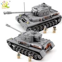 1193pcs Military army series tank F2 Building Blocks German soldiers Figures Bricks legorreta educational toys for children