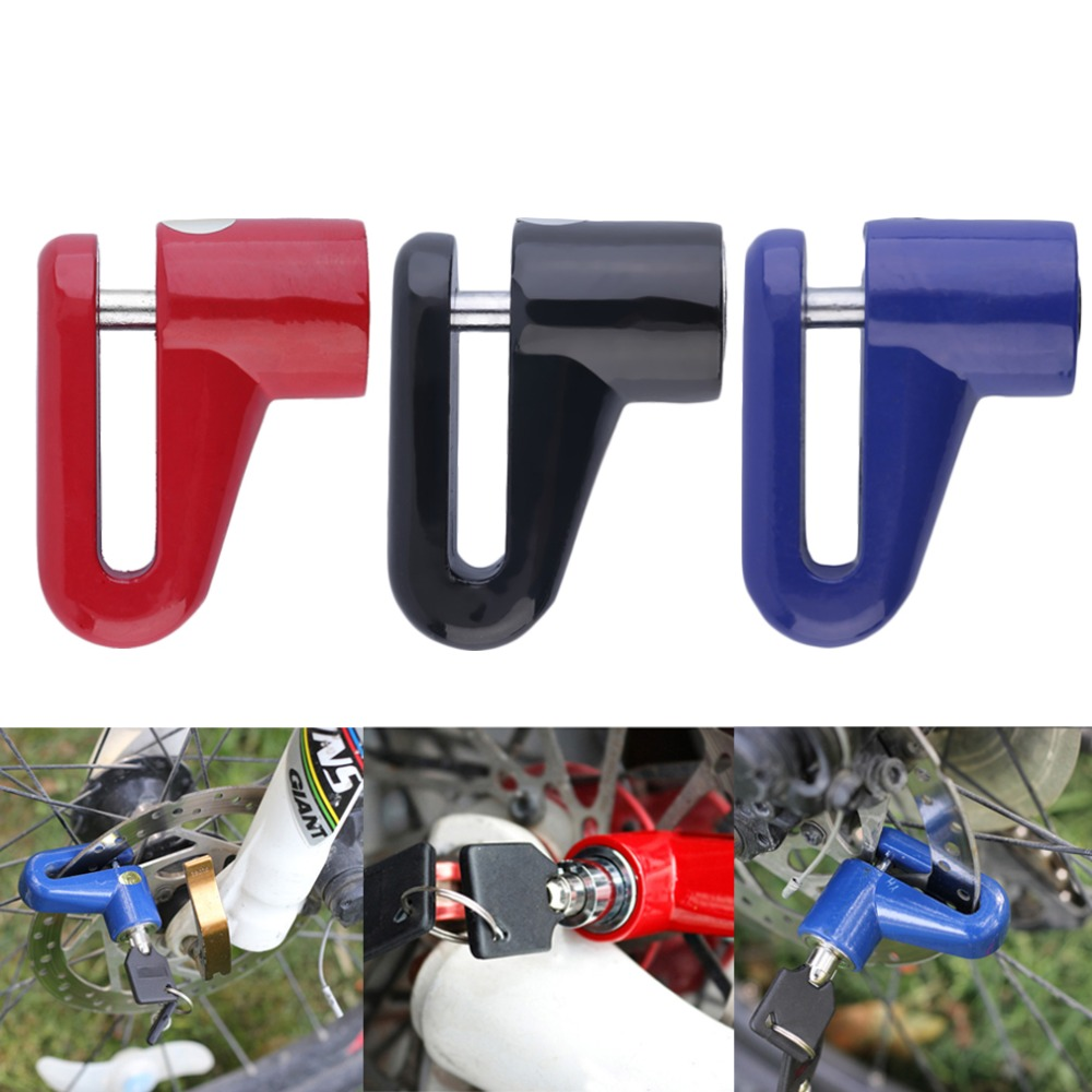 Anti-theft Disk Brake Rotor Lock Safety for Scooter Bike Bicycle Motorcycle free shipping