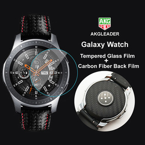 Image 5 - 2 Bộ Carbon Sợi Dây Lưng Bảo Vệ + Tặng Cường Lực Phim Protetor Màn Hình Đồng Hồ Dành Cho Samsung Galaxy Samsung Galaxy Dây 46mm 42mm Gear S3 22mm