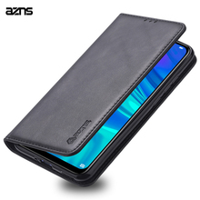For Huawei Y5 2019 Case AZNS Flip Cases Leather Magnetic Stand Cover