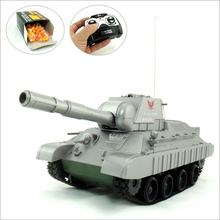 Children's Toy Wireless Radio Control Battle Tank BB Bullet RC Toy 2color Free Shipping(China)