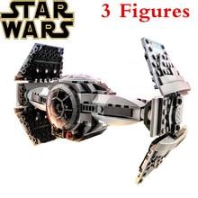 купить New 345pcs Legoings Star Wars Model Building Blocks The Force Awakens TIE Advanced Prototype Fighter Blocks Toys DBP481 дешево