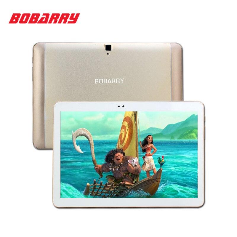Bobarry 10.1 pulgadas octa core de doble cámara de tabletas 4g lte tableta de la