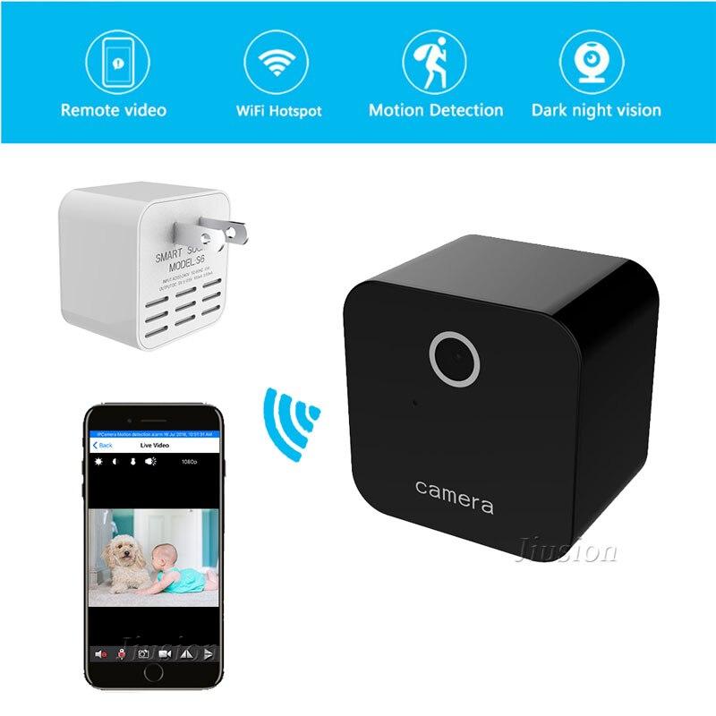 Mini Wifi Camera HD 1080P Motion Sensor IR Video Voice Wireless Recorder Remote Camcorder Smart Charger