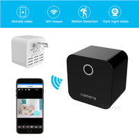 Mini Wifi Camera HD 1080P Motion Sensor IR Video Voice Wireless Recorder Remote Camcorder Smart Charger Socket Secret Micro Cam