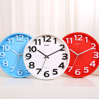 12 Inch Creative Fashion Wall Clock Living Room Modern Brief Mute Quartz Large Wall Clock Free Shipping
