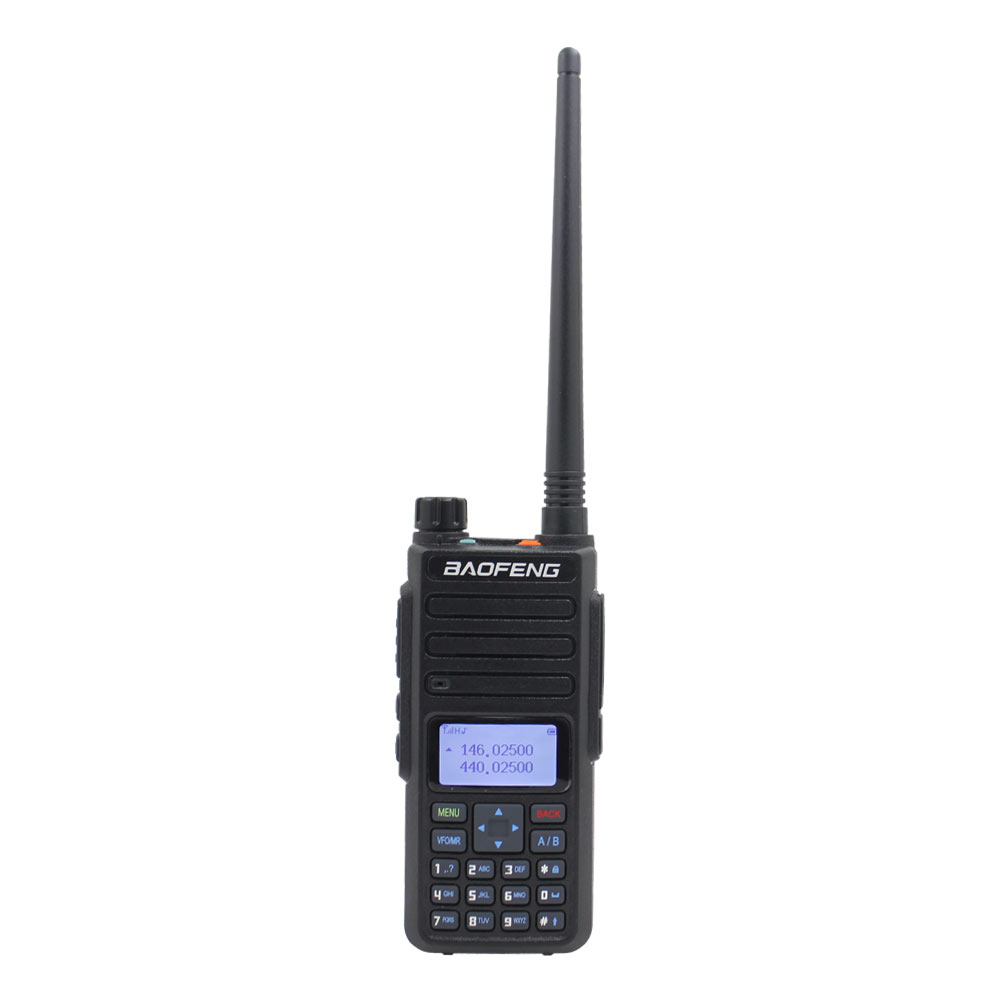 Baofeng Dual Band UHF VHF BF-H6 136-174MHz 400-520MHz Tri-power 2w/5w/10w Power Walkie Talkie 10km Long Talking Range Ham Radio