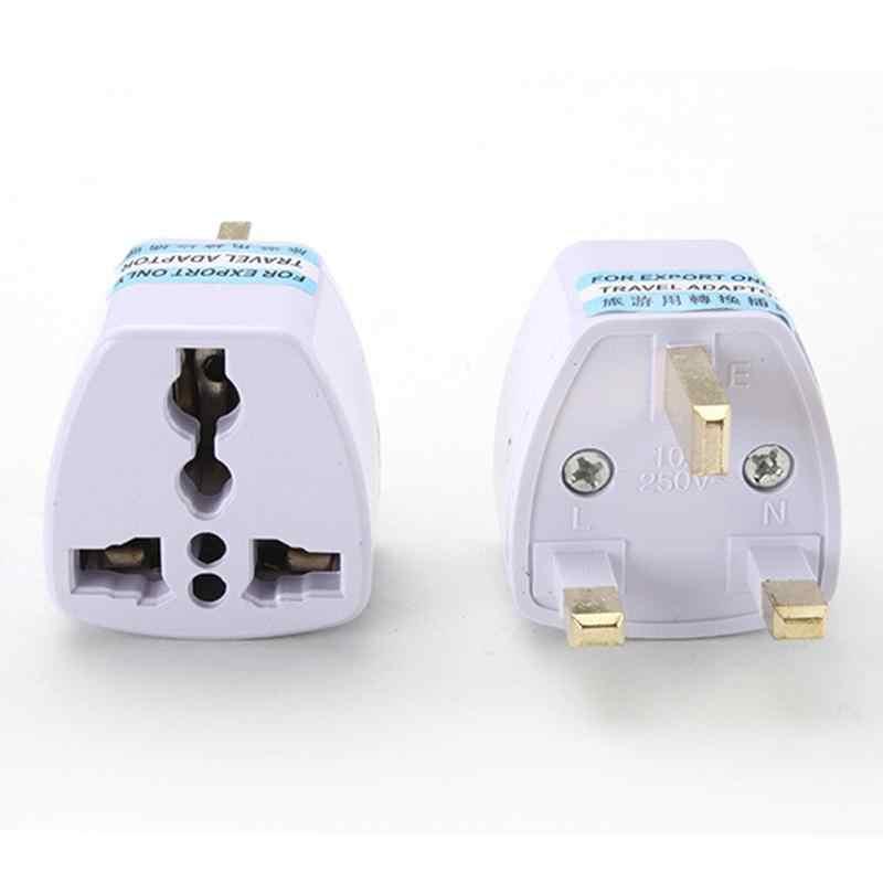 1pcs คุณภาพสูง Prtical Universal EU UK AU TO US USA Power Adapter Travel Plug Converter 2 ขาแบน