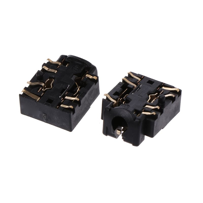 2Pcs 3.5mm Headset Jack Headphone Plug Port Socket Replacement For Xbox One S Controller