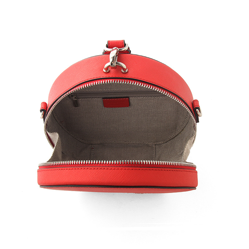 Berühmte Designer Handtaschen Aus Echtem Leder Runde Tasche Frauen Kleine Umhängetaschen für Damen Party Abend Kupplung Bolsa Feminina - 4