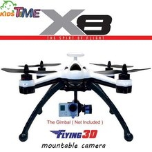 2016 High Quality Professional Drone Flying 3D X8 GPS 6 Axis 2.4G 8CH OSD RC Quadcopter Remote Control Helicopter RTF EU/US PLUG