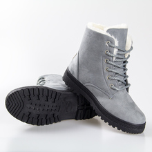2016 heels boots fashion Snow boots winter ankle boots women boots shoes plus velvet shoes