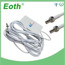 Eoth 3g 4G LTE антенны CRC9 разъем 4G LTE маршрутизатор Anetnna 3g внешняя антенна с 2 м кабель для huawei 3g 4G LTE маршрутизатор модем