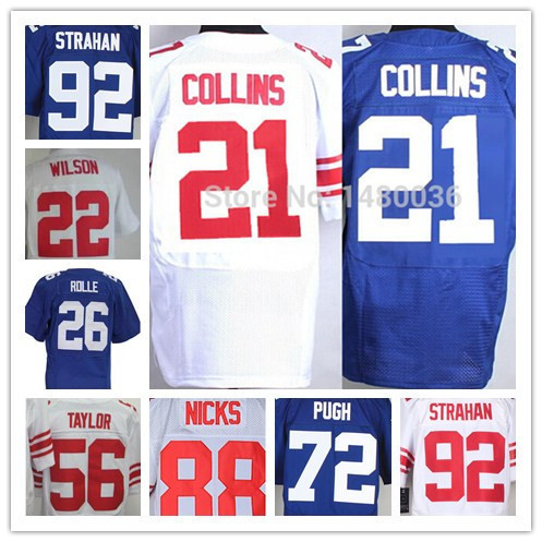 On Sale Odell Beckham Jr Jersey 13 NY Jersey Landon Collins Jersey can mix order Size Small- XXXXL 4XL Football Jersey