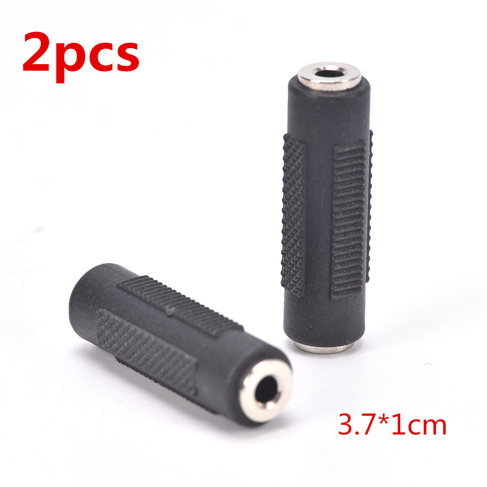 2pcs 3.5mm stereo headset plug jack Plated 90 Degrees Audio Adaptor Connector JX