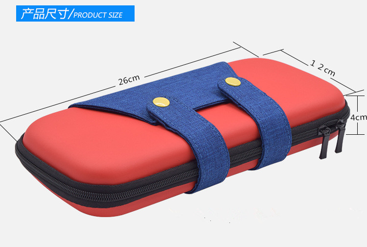 Купить с кэшбэком Carrying Case For Nintend Swith Protective Hard Shell Portable Travel Carry Storage Bag for Nintendos Switch NS Console