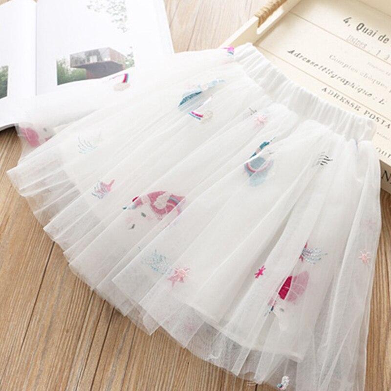 HTB1cBOHRMHqK1RjSZJnq6zNLpXaq Girls Clothing Sets 2019 Summer Princess Girl Bling Star Flamingo Top + Bling Star Dress 2pcs Set Children Clothing Dresses
