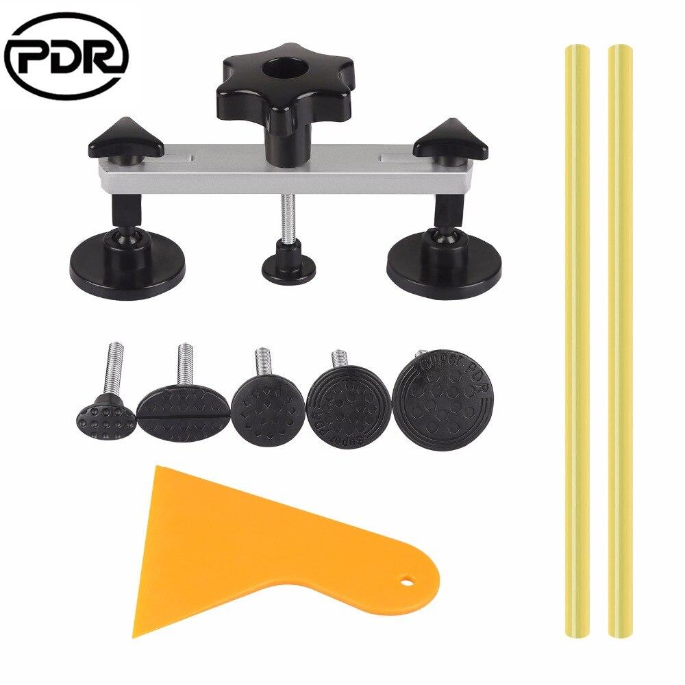 3x Dent Puller Kit Paintless Dent Removal Hail Damage Repair Pods Tools B Set