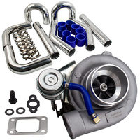 GT25 T25 T28 GT28RS GT25R GT28R GT2860RS GT2860 GT28 wet bearing TurboCharger 76mm 3 INCH ALUMINIUM INTERCOOLER PIPE PIPING HOSE Turbo Chargers & Parts     -