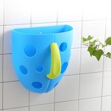 Lolvey Baby Kids Bath Toys Organizer Storage Bin Plastic Toddler Toy Tub Hanging Basket Hot Sale