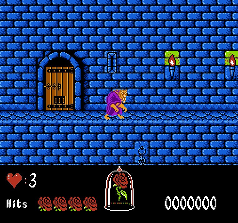 Beauty and the Beast <font><b>Game</b></font> <font><b>Card</b></font> For <font><b>72</b></font> <font><b>Pin</b></font> 8 Bit <font><b>Game</b></font> Player image