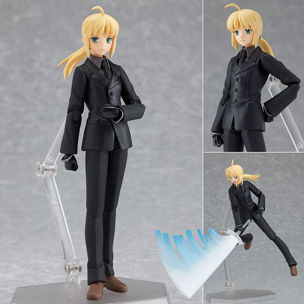 Free Shipping 8 Anime Fate EXTRA Fate Stay Night Zero Saber Suit ver. Boxed PVC Action Figure Model Doll Toy Gift Figma 126 huong anime figure 26 cm fate stay night saber fate zero with light pvc action figure collection model toy