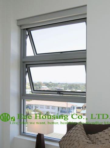∞Templado Seguridad vidrio ventana toldo de aluminio para ...