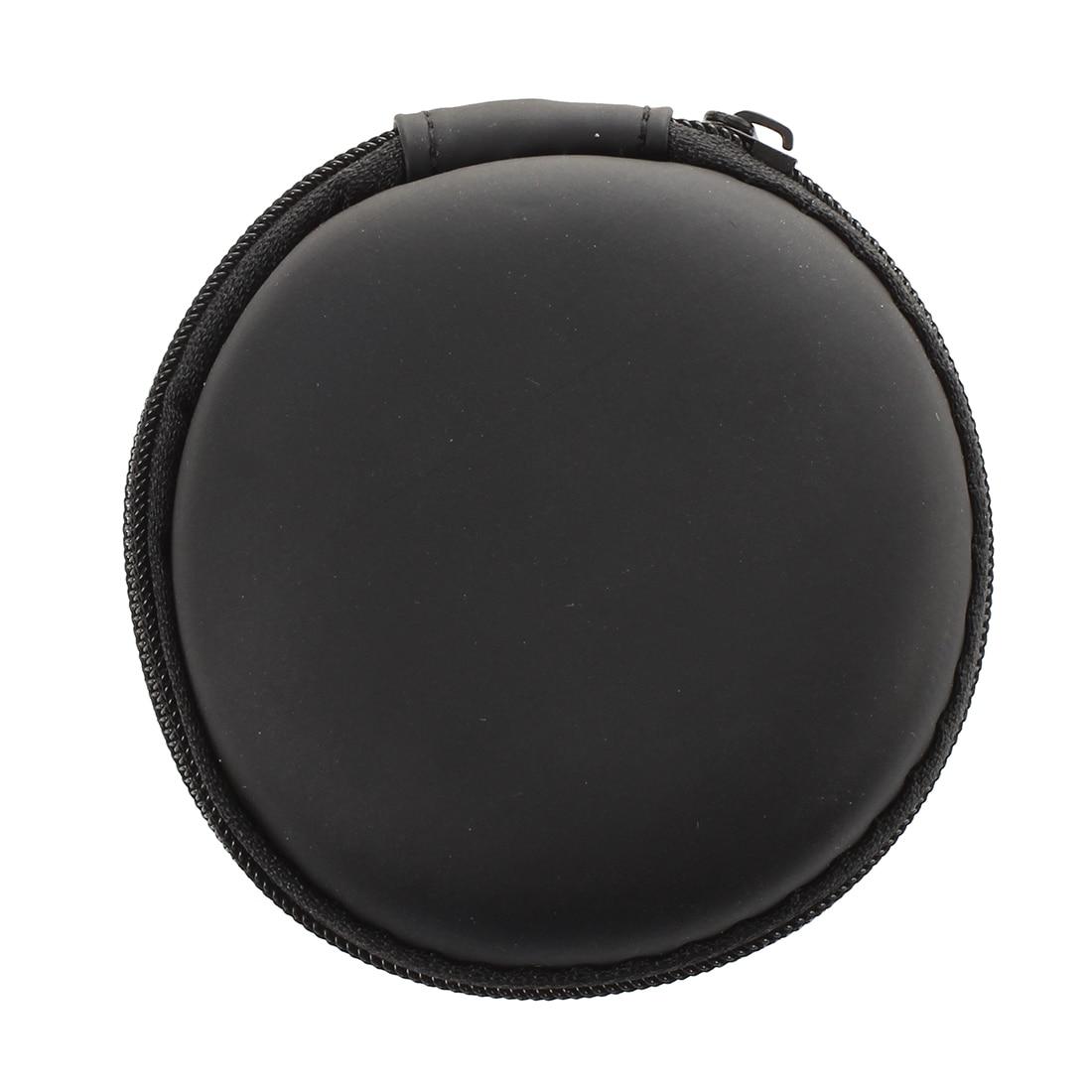 Круглый Портативный Мини Жесткий чехол для хранения сумку коробка для наушники SD TF карты
