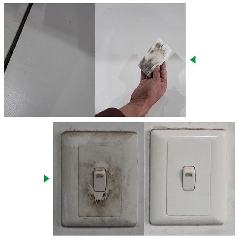 10/20 pièces blanc magique éponge gomme mélamine nettoyant multi-fonctionnel cuisine salle de bain nettoyage outils éponge 100*58*20mm
