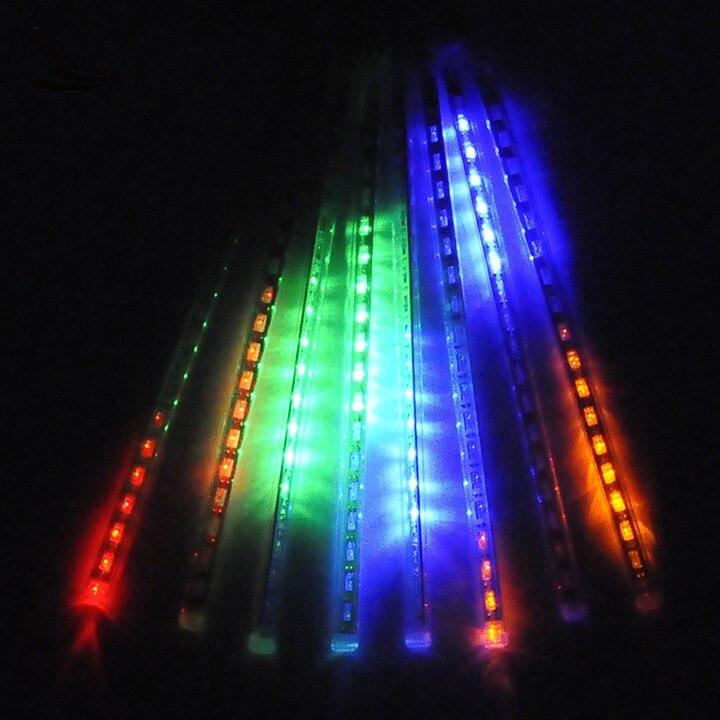 New Arrival 30CM Meteor Shower Rain Tubes LED Light For Christmas Wedding Garden Decoration 100-240V/US Plug sv22
