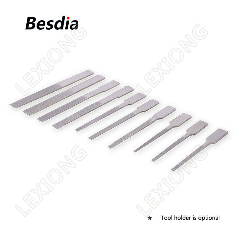 TAIWAN Besdia Diamond Tip Files Carborundum Alloy Files Flat - Herramientas manuales - foto 2