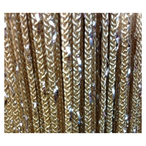 Botique Room Door Window Beads Crystal String Curtain Beads Wall Panel Fringe Divider Champagne
