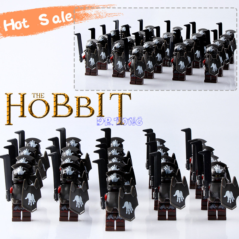 Dr. tong 21 unids/lote Castillo Medieval caballeros héroe de Esparta el señor Anillos mini Building Blocs ladrillo Armaduras el hobbit juguete