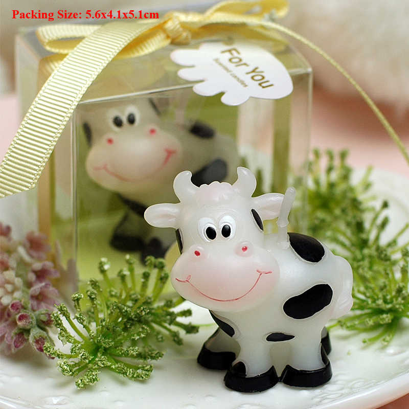Terrific Cow Candle Cake Decorating Supplies Candles For Cakes Boys Girls Funny Birthday Cards Online Overcheapnameinfo