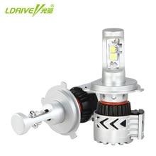 цена на Car LED Headlight Bulbs 60W 12000LM H4 Hi/Lo Beam CREE Chips LED Headlamp Fog Lights Cool White 6500K H7 H11 9005 LED Headlight