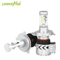 Car LED Headlight Bulbs 60W 12000LM H4 Hi/Lo Beam CREE Chips LED Headlamp Fog Lights Cool White 6500K H7 H11 9005 LED Headlight