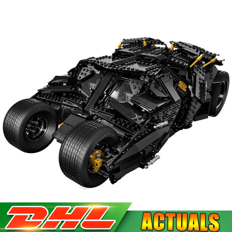 Super Hero Movie Series The Batman Armored Chariot Set Building Block Brick Model Children Toys Compatible LegoINGlys 76023 hot compatible legoinglys batman marvel super hero movie series building blocks robin war chariot with figures brick toys gift