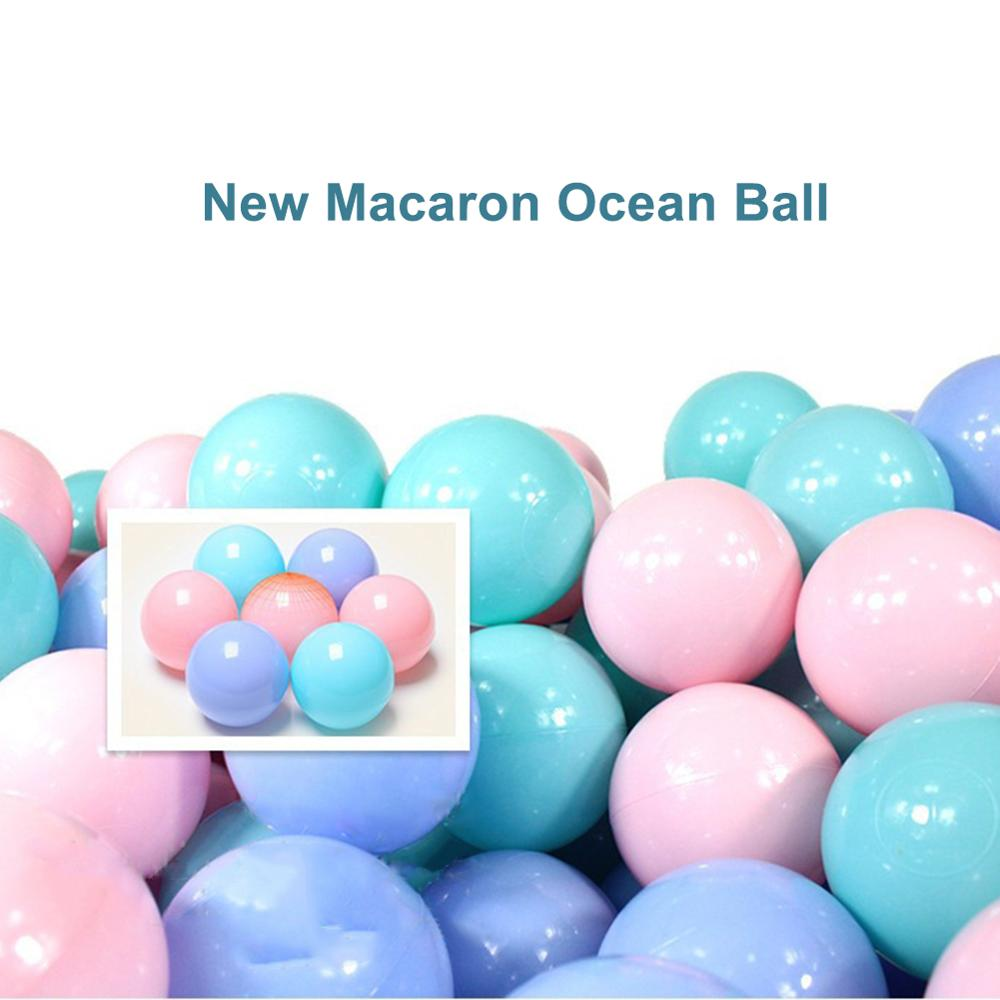 25Pcs/Set 5.5cm Soft Colorful Ocean Ball Crush Proof Baby Kids Swim Pit Toy Gift For Children Party Games