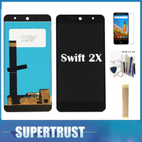 5.2 Inch Black Color For Wileyfox Swift 2X LCD display Touch screen Digiziter Assembly with Kit