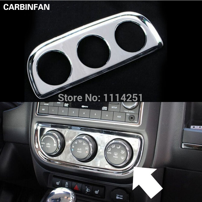 2013 Jeep Patriot Interior: Free Shipping Air Condition Adjust Button Panel Trim