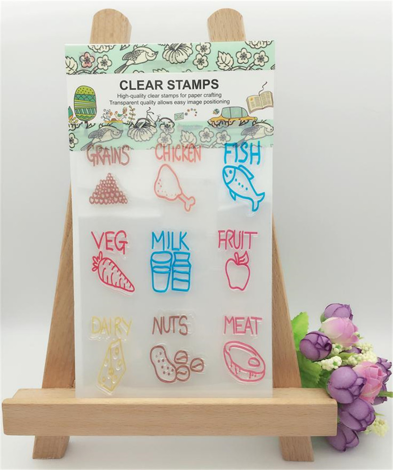 silicone Transparent Stamp Designletters and symbol  For DIY Scrapbooking paper Card  Decoration Supplies LL-288