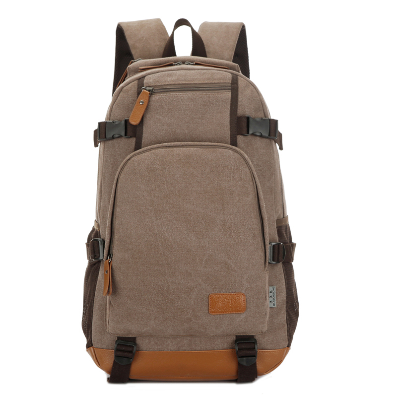 High capacity Travel Laptop Men Backpack 14 15.6 inch Multifuntion Bag College School Bags canvas Notebook Backpacks+Free gift t plants multifunctional men large capacity backpacks oxford laptop bag for 14 inch college backpacks comfort travel backpack