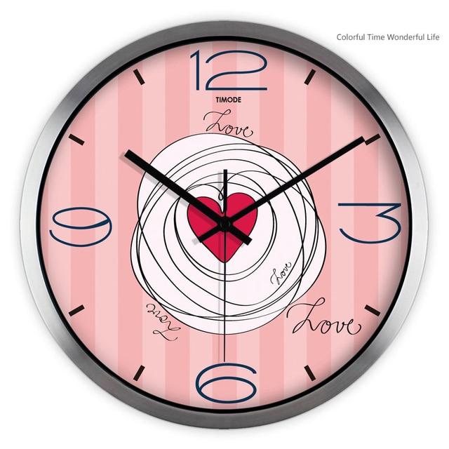 Decorative Wall Clock Decor Home Clocks For Living Room Montre Zegar ...