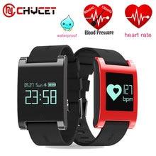 Impermeable DM68 inteligente muñequera band gimnasio rastreador heart rate monitor de Presión Arterial Llamadas Mensajes reloj Inteligente para el teléfono