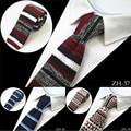 2016 Brand New Design de Moda Malha Gravata Para Homens Magro Malha Cravate Gravata Estreita Skinny Gravatas Para Homens Terno Do Casamento Festa